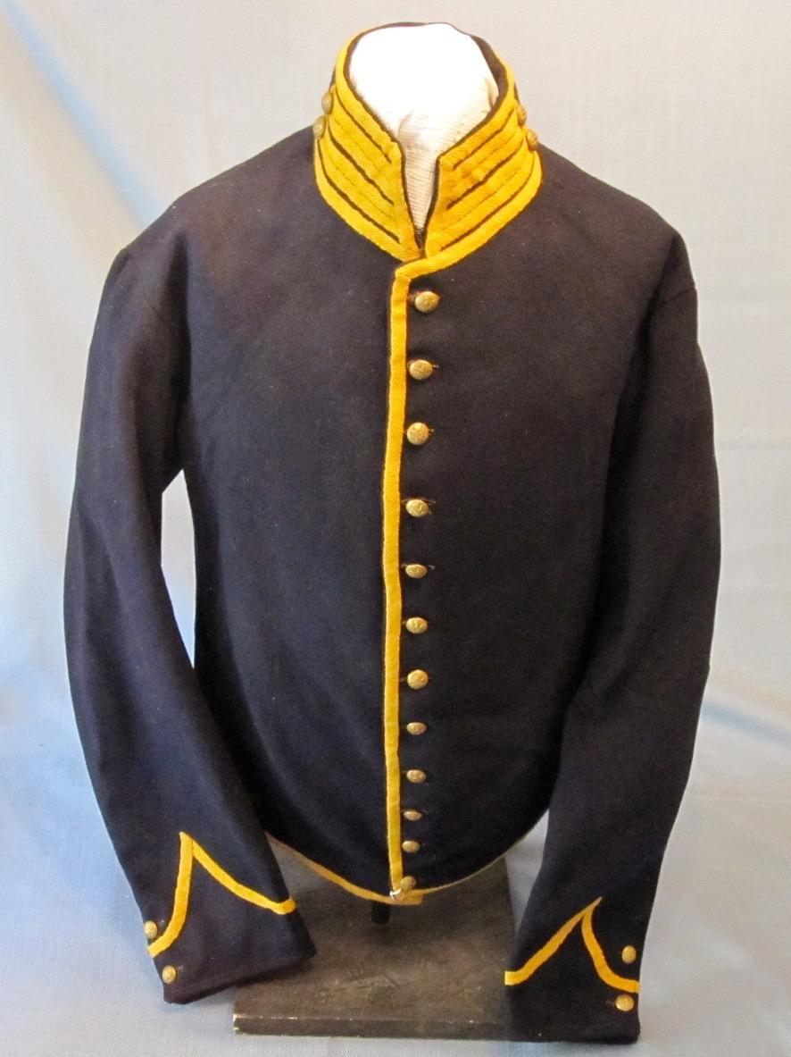 Civil War Cavalry Uniform Quot Shell Quot Jacket Sold J