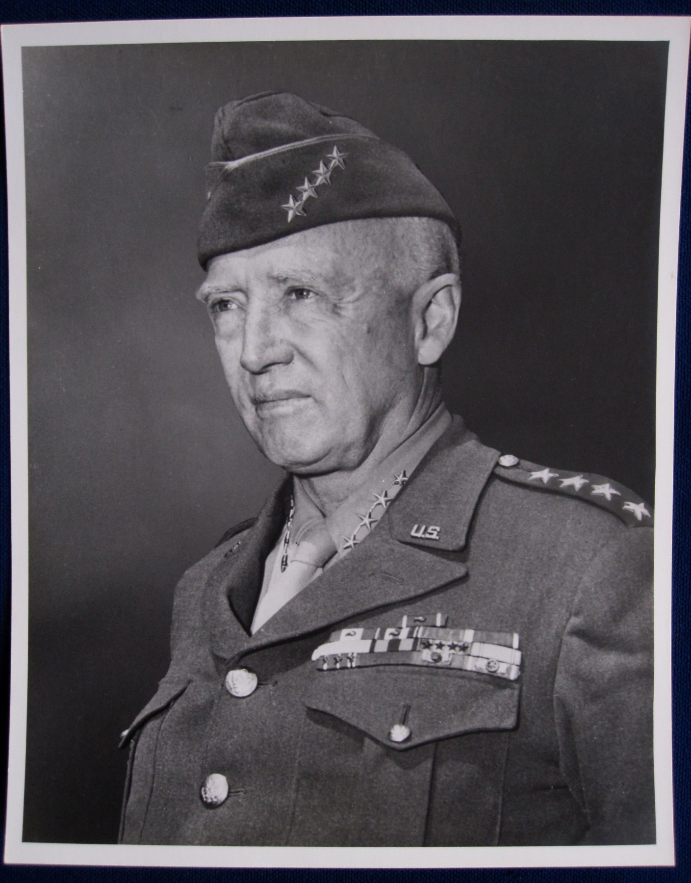 george s patton essay Gen patton's clear vision - general george s patton , and other papers all across america picked it up.