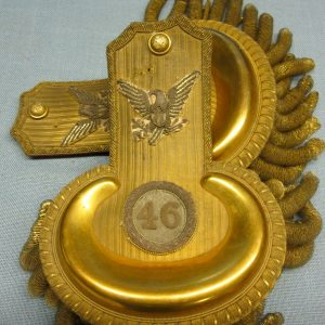 civil war colonels epaulettes 46th regiment