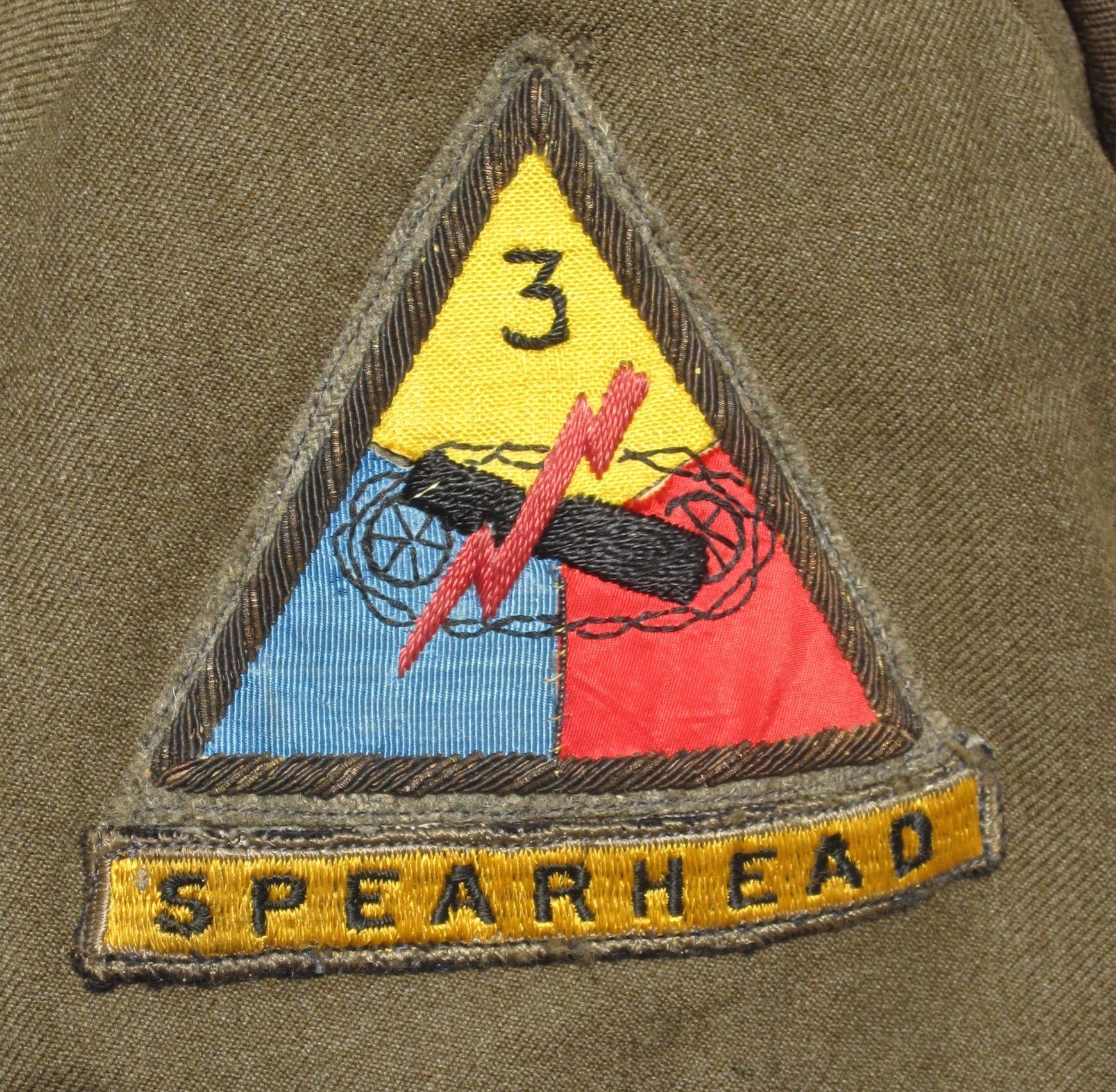 Theatre Made 1st/3rd Armored Ike Jacket | J  Mountain Antiques