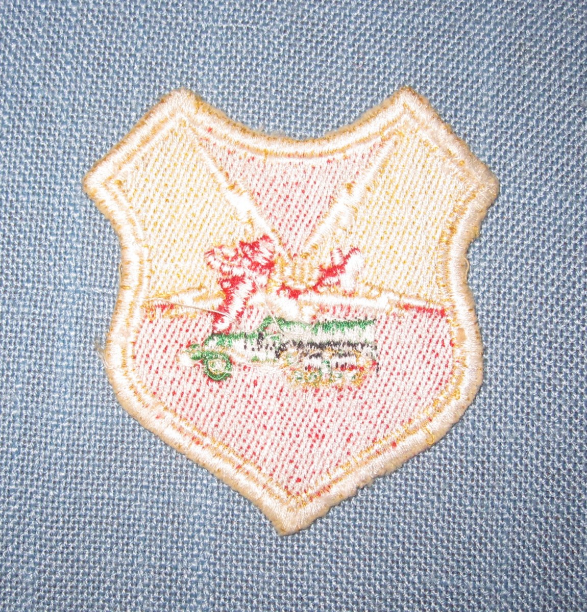 Rare D-Day Unit German Made Patch  SOLD | J  Mountain Antiques
